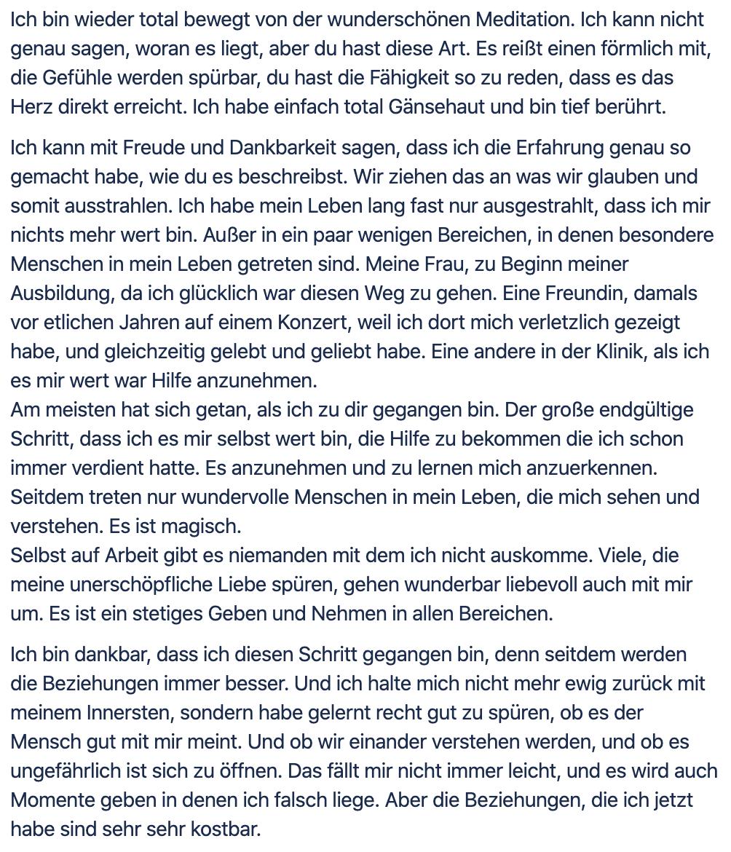 Emotionale Freiheit - Glücklich - Tobias Witzenberger - Mentoring